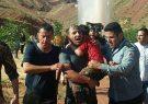 جدال مردان آتش با آب/ ناجیان بیپناه