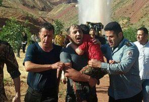 جدال مردان آتش با آب/ ناجیان بی پناه