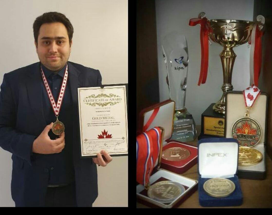 افتخاری دیگر برای ایران توسط مخترع جوان تبریزی