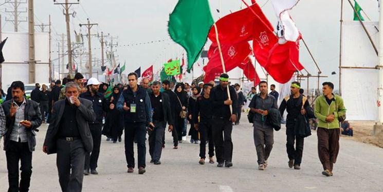 استقرار ۲۵ موکب آذربایجان شرقی در مرز خسروی و داخل عراق/اربعین، عرصه قدرتنمایی شیعیان است