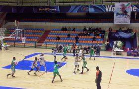 لیگ بسکتبال/ توفارقان بازنده دیدار با پتروشیمی بندر امام اعلام شد