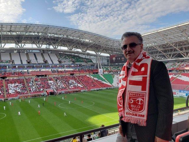 زنوزی: همواره همه اتفاقات از استادیوم آزادی آغاز میشود