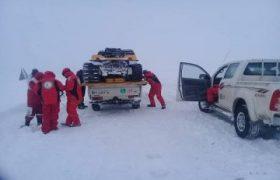 امدادرسانی به حدود سه هزار مسافر گرفتار در برف و کولاک آذربایجانشرقی