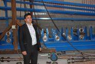 حاج علی حسن پور سردرود مدیر عامل شرکت فولاد ایمن نورآذر: در صورت حمایت های دولت می توانیم بازارهای صادراتی در کشورهای مختلف ایجاد نمائیم