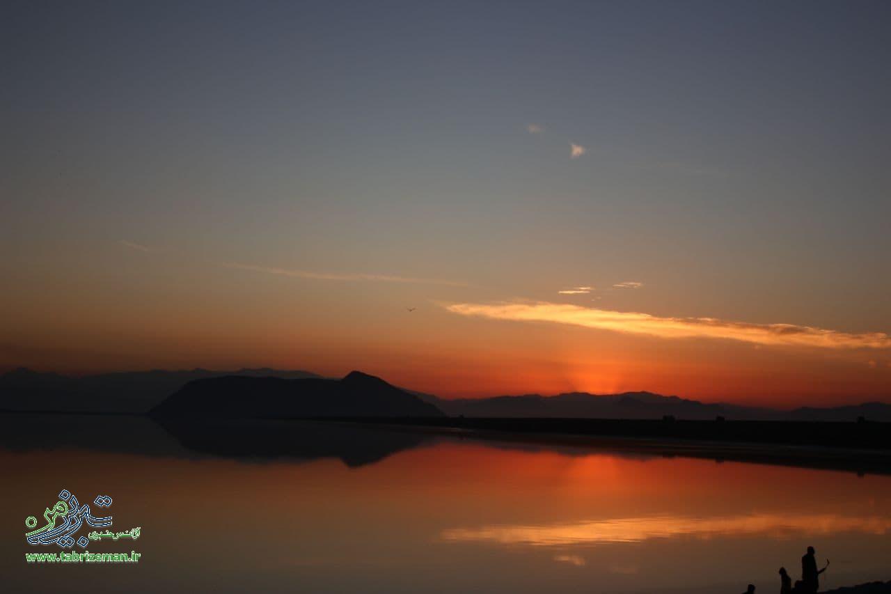 حال و هوای روزهای پاییزی دریاچه اورمیه