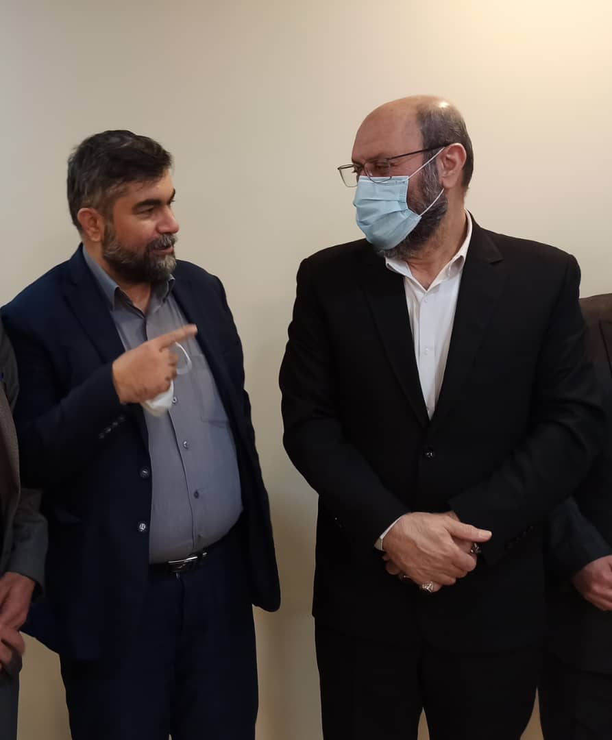 دکتر دانشور رییس شورای سیاستگذاری حزب همت در شمالغرب کشور در دیدار با سردار دهقان مشاور محترم مقام معظم رهبری عنوان نمود: